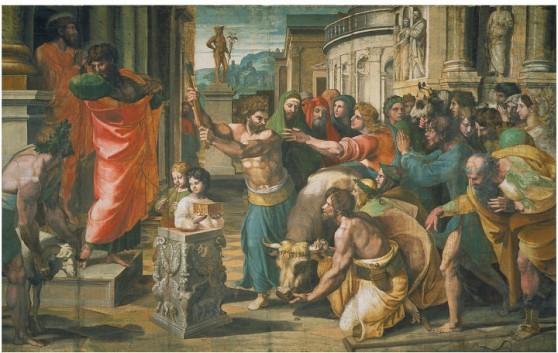 Pau l et Barnabé à Lystres - Raphaël